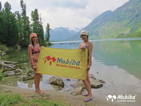 22. Экспедиция на Мультинские озера 2019 - Среднее Мультинское озеро. Мобиба.JPG