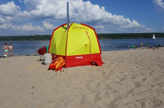 Кайфандра на пляже в Бердске.jpg