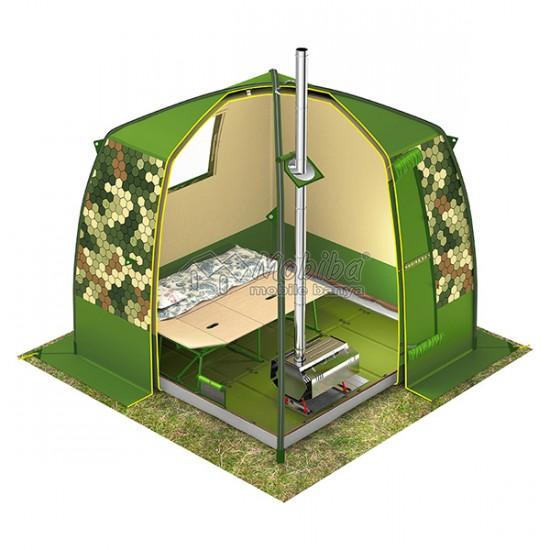 Интерьер Мобиба МБ-15 в качестве палатки для временного ночлега.jpg